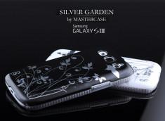 Coque Samsung Galaxy S3 Silver Garden