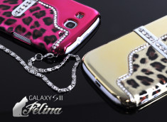 Coque Samsung Galaxy S3 avec support TV Felina