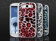 Coque Samsung Galaxy S3 Silver Leopard