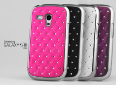 Coque Samsung Galaxy S3 Mini Luxury Leather