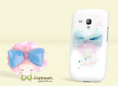 Coque intégrale Samsung Galaxy S3 mini Lovely Girl by Happymori