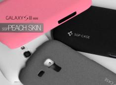 Coque Samsung Galaxy S3 mini SGP Peach Skin Case