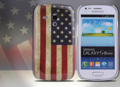 Coque Samsung Galaxy S3 Mini Vintage USA Flag
