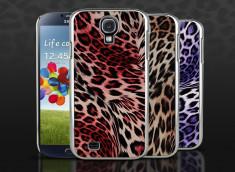 Coque Samsung Galaxy S4 - Silver Leopard