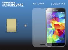 KIT avec 1 film protecteur effet anti-reflet  + 1 chiffon - Samsung Galaxy S5