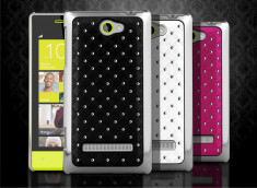 Coque Htc 8S Luxury Leather