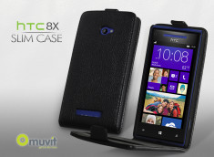 Etui HTC 8X Slim Case by Muvit