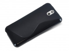 Coque HTC Desire 610 Silicone Grip Noir