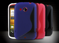 Coque HTC Desire C Grip Flex