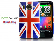 Coque HTC Desire HD British Flag