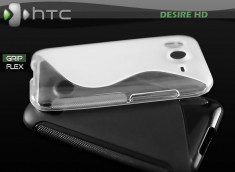 "Coque HTC Desire HD ""Grip Flex"""