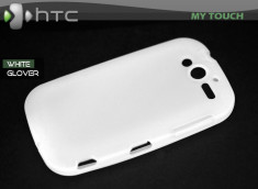 "Coque HTC My Touch ""White Glover"""