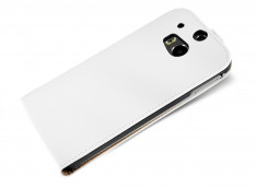 Etui HTC One M8 Business Class Blanc