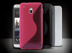 Coque HTC One mini Silicone Grip