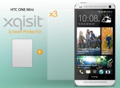 Kit 3 films protecteurs AVANT Anti-Rayures Xqisit pour HTC One Mini