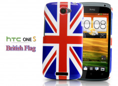 Coque HTC One S British Flag