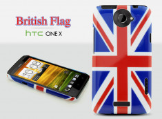 Coque HTC One X British Flag