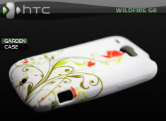 """Coque HTC Wildfire G8 """"Garden Case"""""""