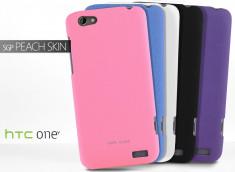 Coque HTC One V SGP Peach Skin Case