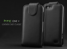 Etui HTC One V Leather Case Classic