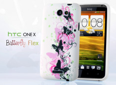 Coque HTC One X Butterfly Flex
