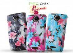 Coque HTC One X Fleur des Iles