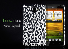 Coque HTC One X Snow Leopard