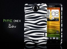 Coque HTC One X Zebra