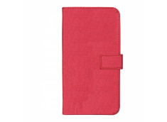 Etui iPhone 12/12 Pro Leather Wallet-Rose Fuchia