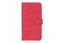 Etui iPhone 12 Mini Leather Wallet-Rose Fuschia