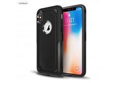 Coque Samsung Galaxy A6 2018 No Shock Case-Noir