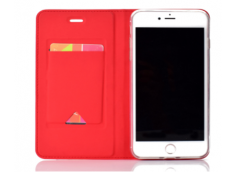 Etui iPhone 7 Plus/iPhone 8 Plus Smart Premium-Rouge