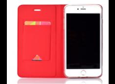 Etui Huawei P40 Lite Smart Premium-Rouge