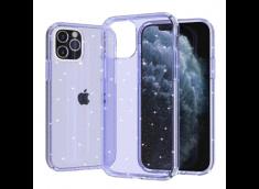 Coque iPhone 13 No Shock Glitter-Purple