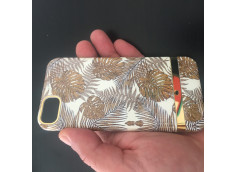 Coque iPhone X/XS Golden Leafs