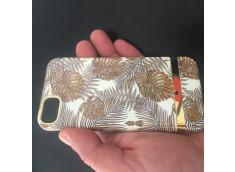 Coque iPhone 7/8/SE 2020 Golden Leafs