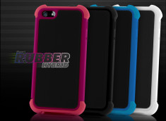 Coque iPhone 5 Rubber Hybrid