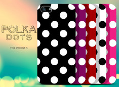 Coque iPhone 5/5S Polka Dots
