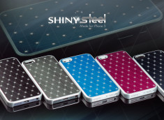 Coque iPhone 5 Shiny Steel