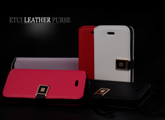 Etui iPhone 5 Leather Purse