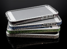 Bumper iPhone 5/5S Strass Color