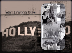 Coque iPhone 4/4S Hollywood 50's by Akashi