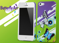 Coque iPhone 5 Butterfly Art