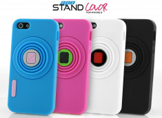 Coque iPhone 5 APN Stand Color