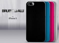 Coque iPhone 5/5S Brushed Alu