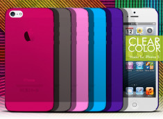 Coque iPhone 5 Clear Color