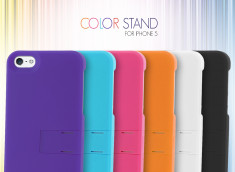 Coque iPhone 5 Color Stand