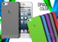 Coque iPhone 5/5S Opaque Color