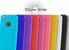 Coque iPhone 5 Silicone Cercles
