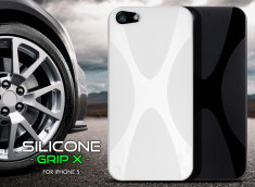 Coque iPhone 5 Silicone Grip X